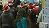 Black Friday Shoppers Hit Stores Early