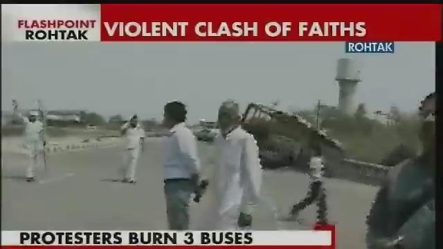 Violence continues unabated in Rohtak, Haryana CM orders probe