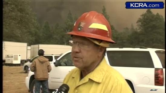 Official gives update on progressing Tuolumne County fire