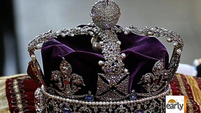 The royal crown jewels