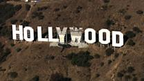 Refurbished Hollywood Sign landmark unveiled