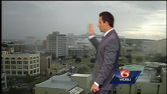 Tracking a tropical low and a cold front