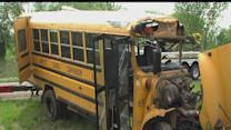 Several injured in school bus crash on Interstate 65