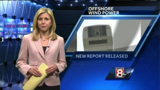 Report says Maine lagging behind on wind energy