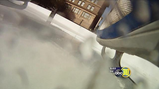 Fresno police step up patrols as ice rink returns