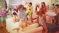Pitch Perfect 2 Cast Wraps Filming with a Pillow Fight