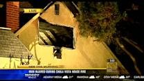Chula Vista man injured trying to put out house fire