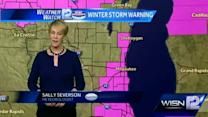 Sally Severson's Noon update