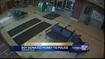 Police solve mystery of generous boy