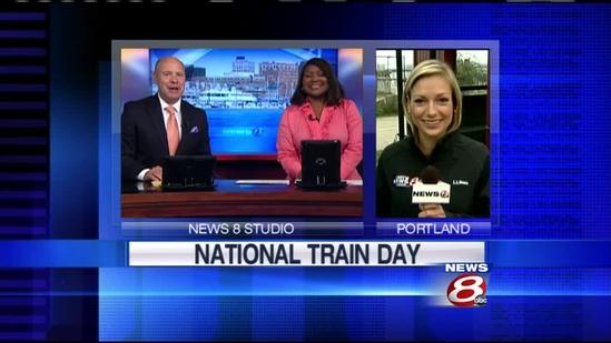 Maine Narrow Gauge Railroad Museum taking part in National Train Day
