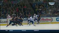 Brown sets up Stamkos for a blast