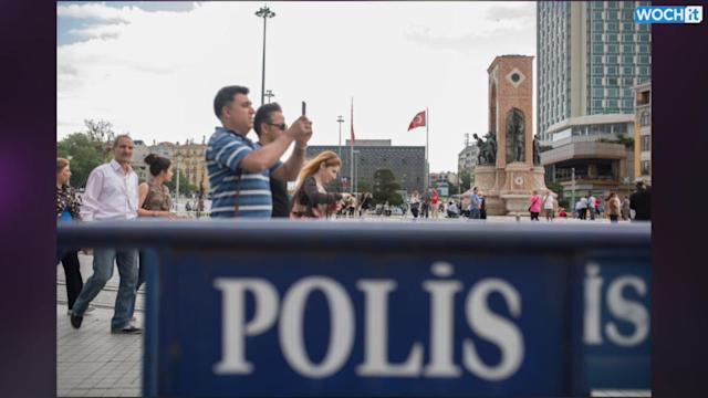 Police Shut Istanbul Park To Pre-empt Protests One Year After Unrest