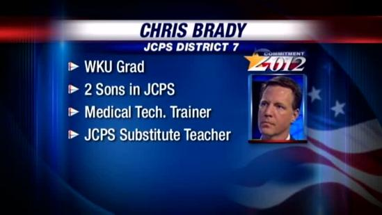 JCPS candidate profile: Chris Brady