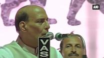 'Won't tolerate cries of 'Pakistan zindabad' on Indian soil': Rajnath