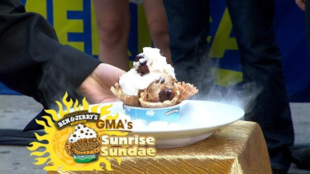 Ben & Jerry's Creates Special Sundae for 'GMA'