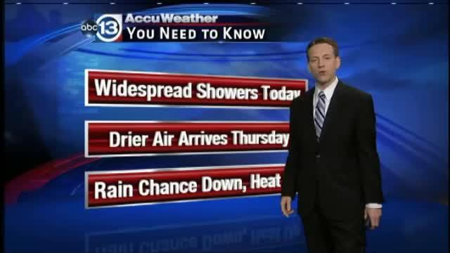 Travis Herzog's midday weather forecast