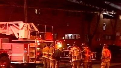 Milwaukee Fire Department Battles Apartment Fire