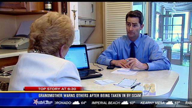 Grandmother warns others after being taken in by scam