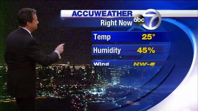 AccuWeather: Snow returns as cold stretch continues