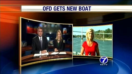 Firefighters' new boat to help in water rescues