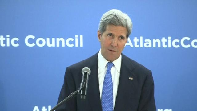 Kerry: Events in Ukraine are