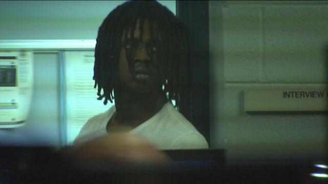Exclusive Raw Video: Police question Chief Keef following suburban shooting