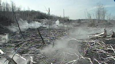 News 8 Archive, 2005: Centralia -- The Land Of Fire And Ice
