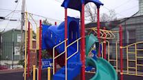 Cameras installed in playgrounds