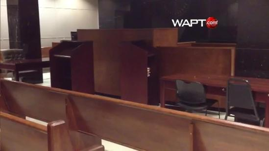 Men charged in church robberies appear in court