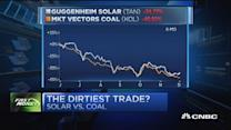 The dirtiest trade: Solar or Coal?