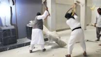 Not Content With Killing, ISIS Destroys Ancient Statues