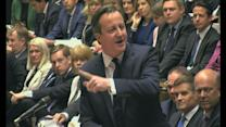 Cameron and Harman clash at PMQs over welfare cuts