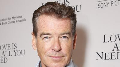 Brosnan Feels 'Love Is All You Need'