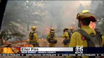 Destructive Wildfires Threaten Hundreds Of Homes In Northern California