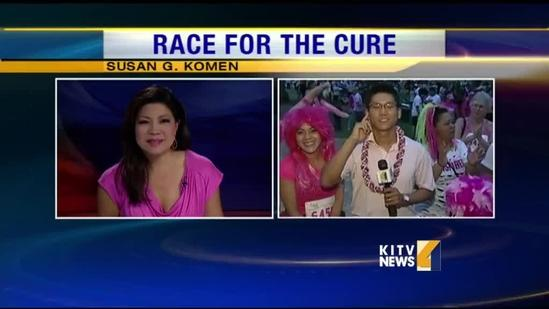 Thousands show support for Race for the Cure