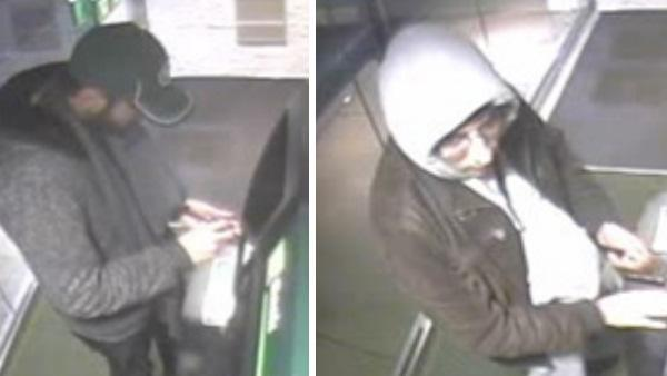 Pictures released of suspects in Medford ATM skimming