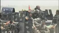 Iraqi forces keep up pressure in battle for Falluja