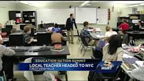 NKY teacher joins education summit in NYC