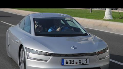 Driven: Volkswagen XL1 Concept Car in Qatar