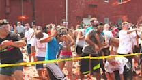 Tomato Fights and Food in Pittston