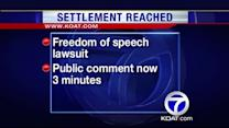 City to pay $14,000 over freedom of speech lawsuit