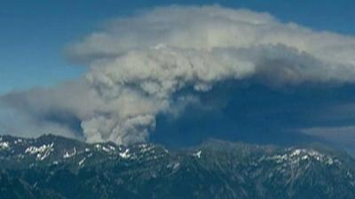 Raw: Central Washington Fire Not Contained