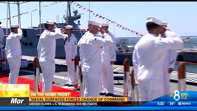 Naval Surface Forces change of command