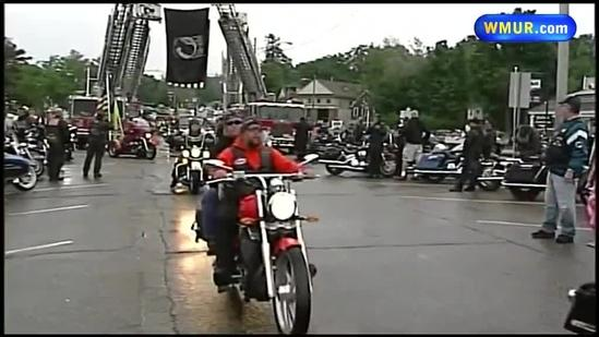 Motorcyclists gather to remember POWs
