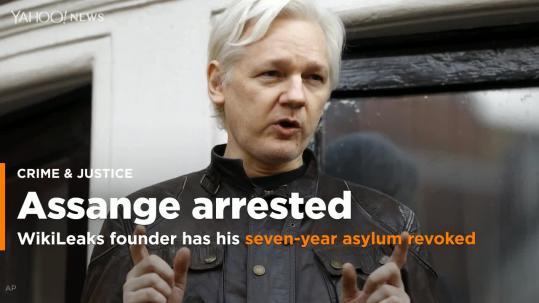 The Latest: Quito arrest part of Assange probe