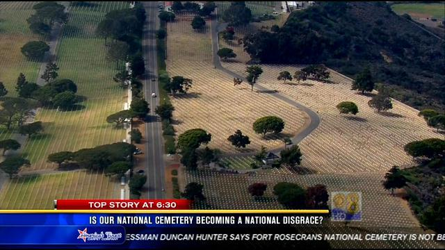 Is our national cemetery becoming a national disgrace?