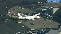 Smoke reported in 787 at Logan Airport