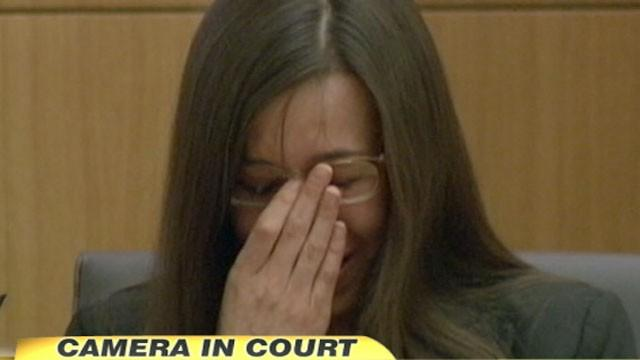 Jodi Arias Cries While Testifying in Murder Trial
