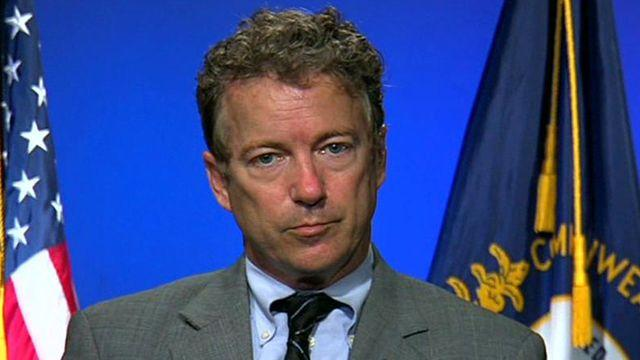Rand Paul on WH contacting YouTube during Benghazi attack