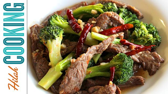American-Chinese Style Beef and Broccoli